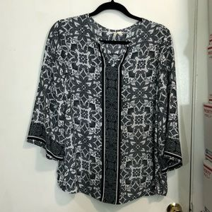 Cato Printed Blouse